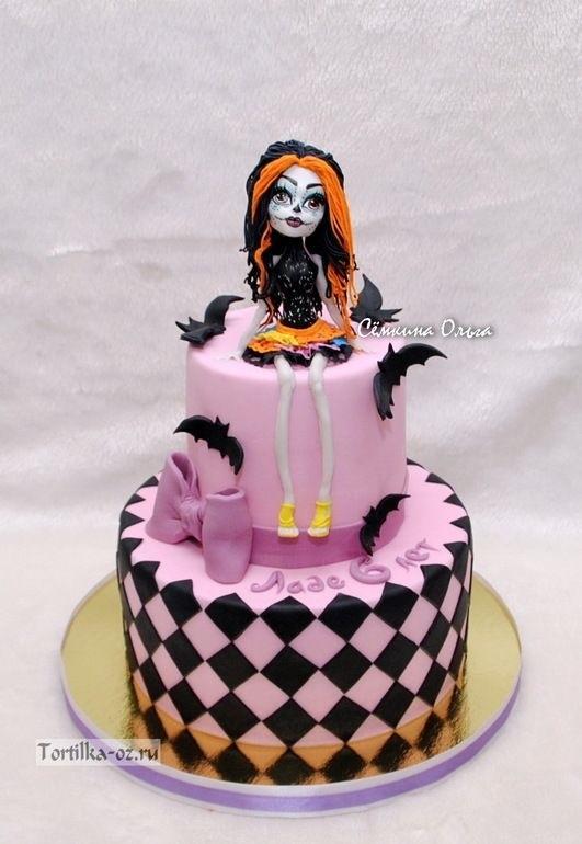 Картинка на торт Монстр Хай007