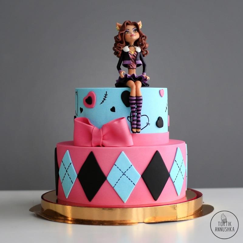 Картинка на торт Монстр Хай011