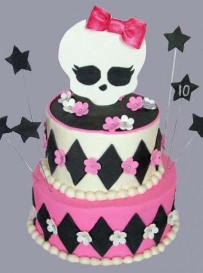 Картинка на торт Монстр Хай015