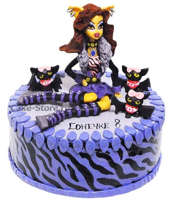 Картинка на торт Монстр Хай021