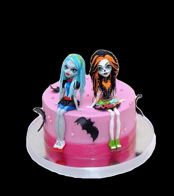 Картинка на торт Монстр Хай022