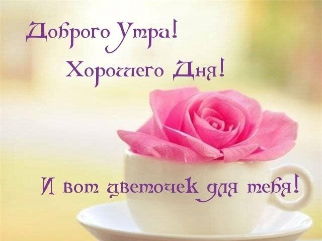 Картинка с добрым утром и удачного дня девушке022