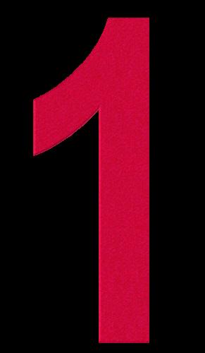 Картинки для детей цифры на прозрачном фоне (13)
