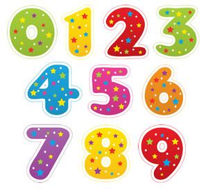 Картинки для детей цифры на прозрачном фоне (18)