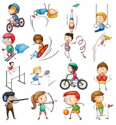 Картинки для детей цифры на прозрачном фоне (4)