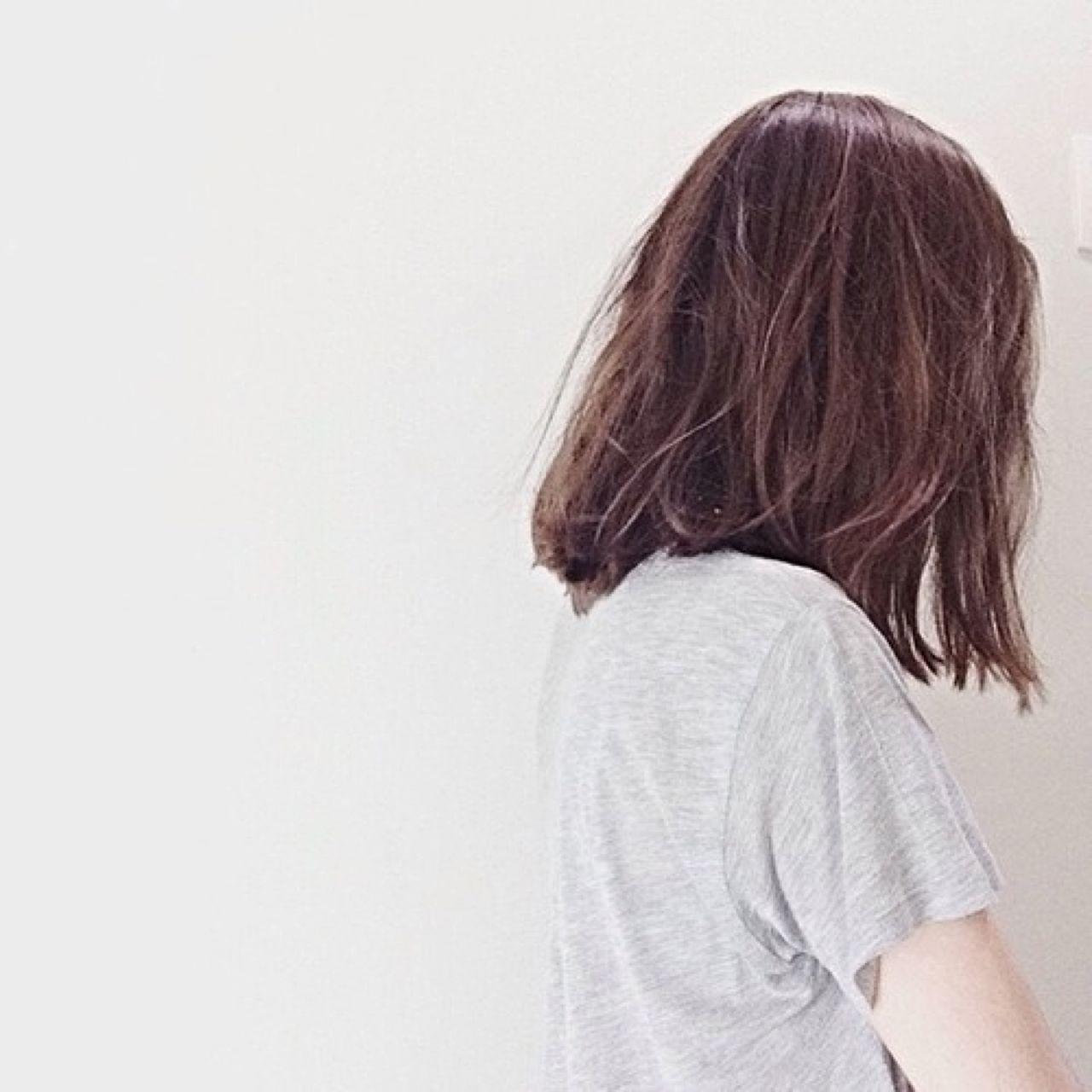 Картинки на аву для девушки со спины короткие волосы (19)