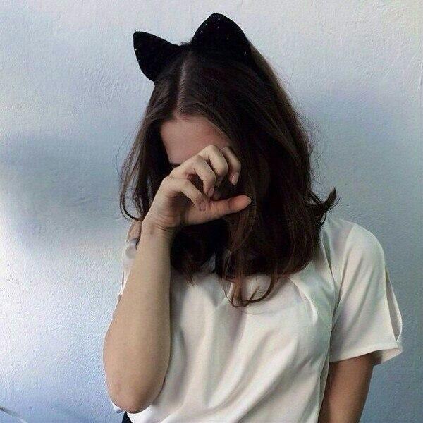 Картинки на аву для девушки со спины короткие волосы (25)