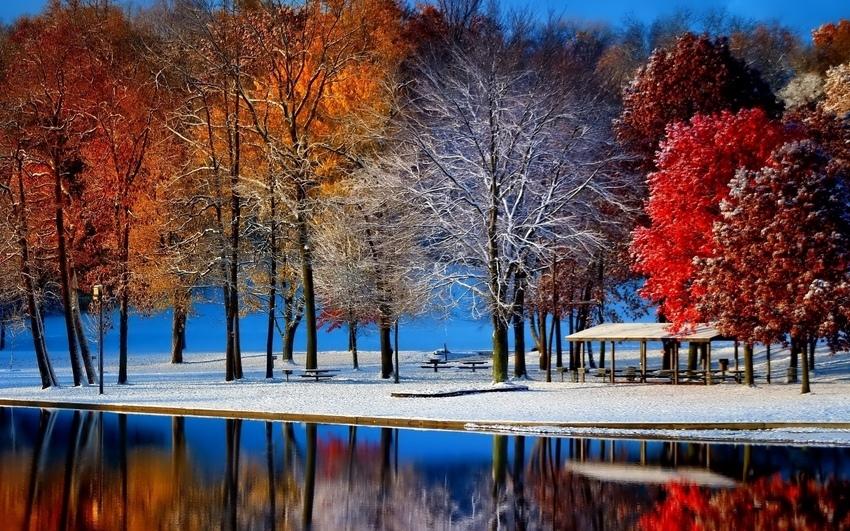 Картинки на рабочий стол осень и зима (9)