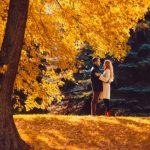 Картинки осень и любовь очень милые
