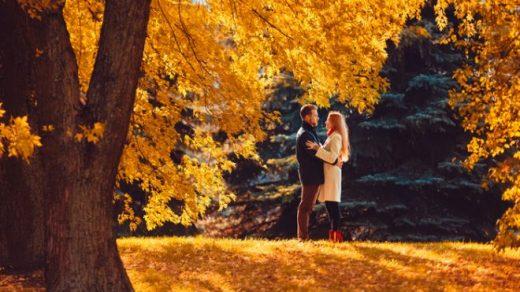 Картинки осень и любовь очень милые (1)