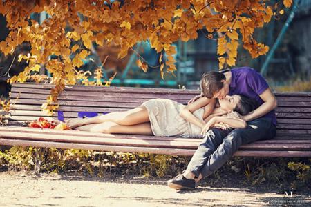 Картинки осень и любовь очень милые (11)