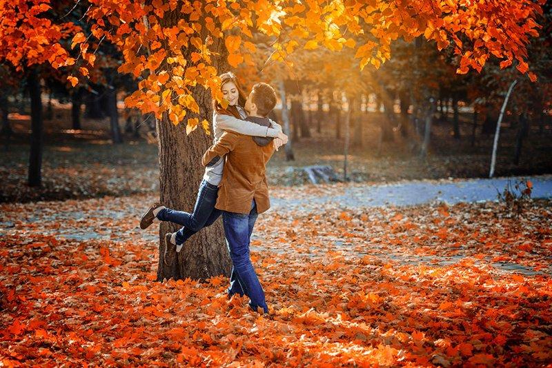 Картинки осень и любовь очень милые (13)