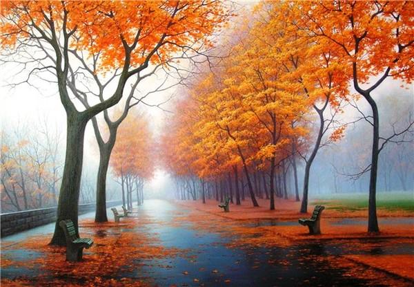Картинки осень и любовь очень милые (16)