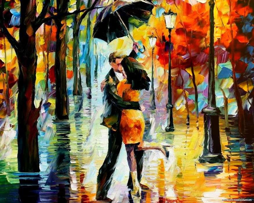 Картинки осень и любовь очень милые (17)