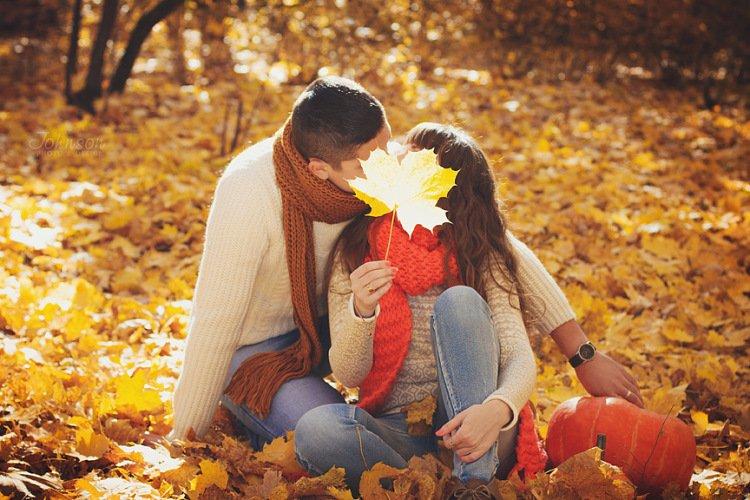 Картинки осень и любовь очень милые (19)