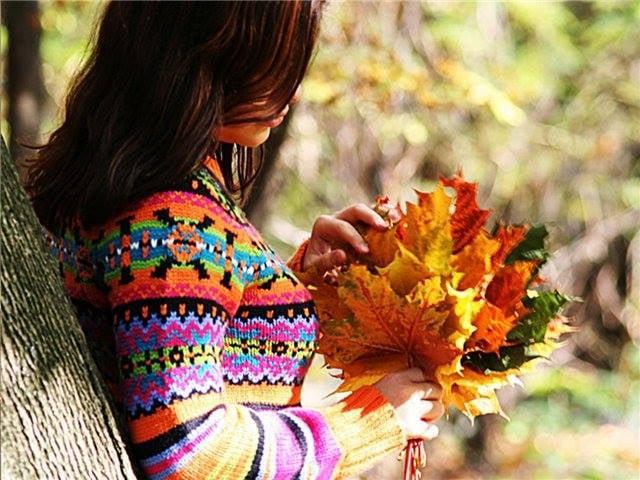 Картинки осень и любовь очень милые (2)