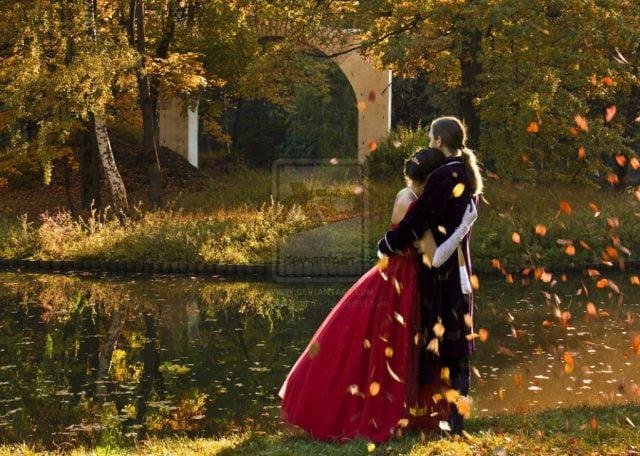 Картинки осень и любовь очень милые (21)