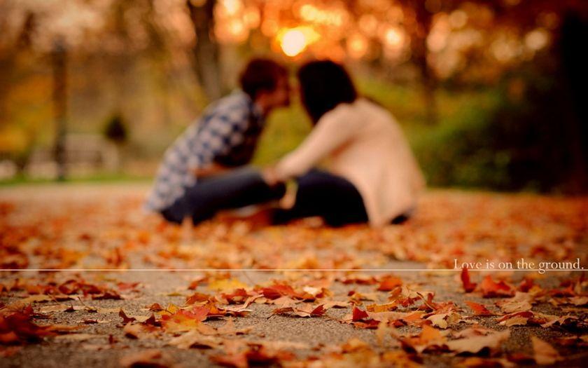 Картинки осень и любовь очень милые (7)