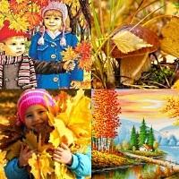 Картинки осень по месяцам для детей детского сада003