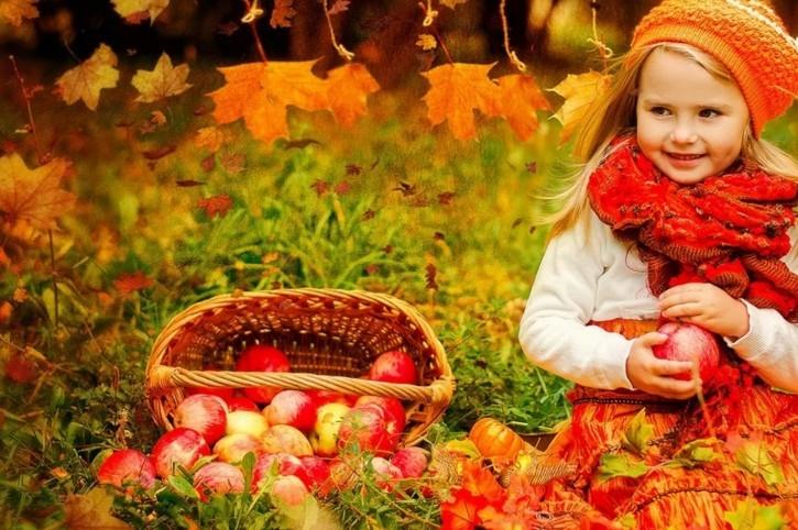 Картинки осень по месяцам для детей детского сада014