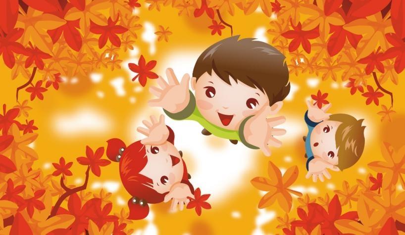 Картинки осень по месяцам для детей детского сада020