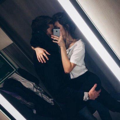 Картинки парень с девушкой обнимаются без лица на аву (19)
