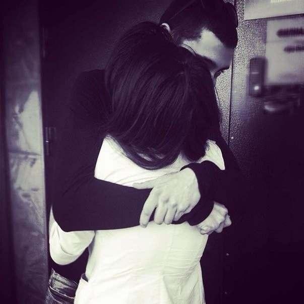 Ночи, картинки парень с девушкой обнимаются без лица на аву