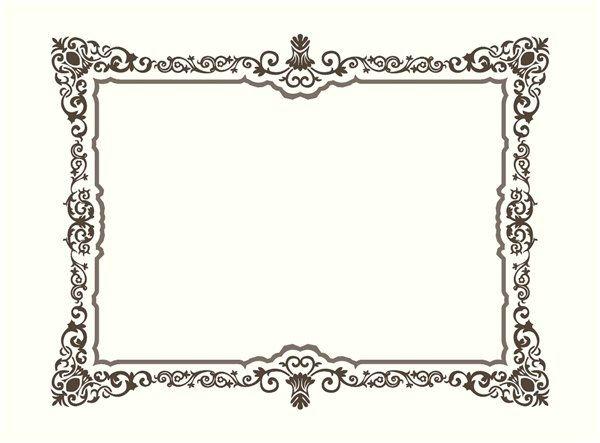 Картинки рамки для фотошопа казахский орнамент001