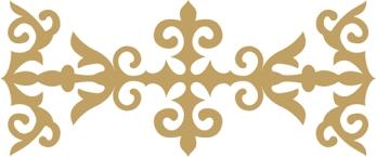 Картинки рамки для фотошопа казахский орнамент002
