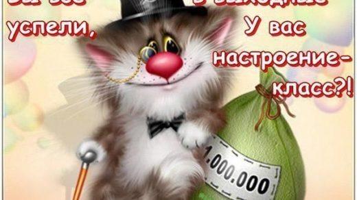 Картинки смешные с понедельником и удачной недели019