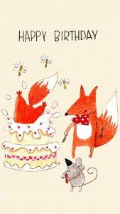 Картинки с днем рождения   фото животных (12)