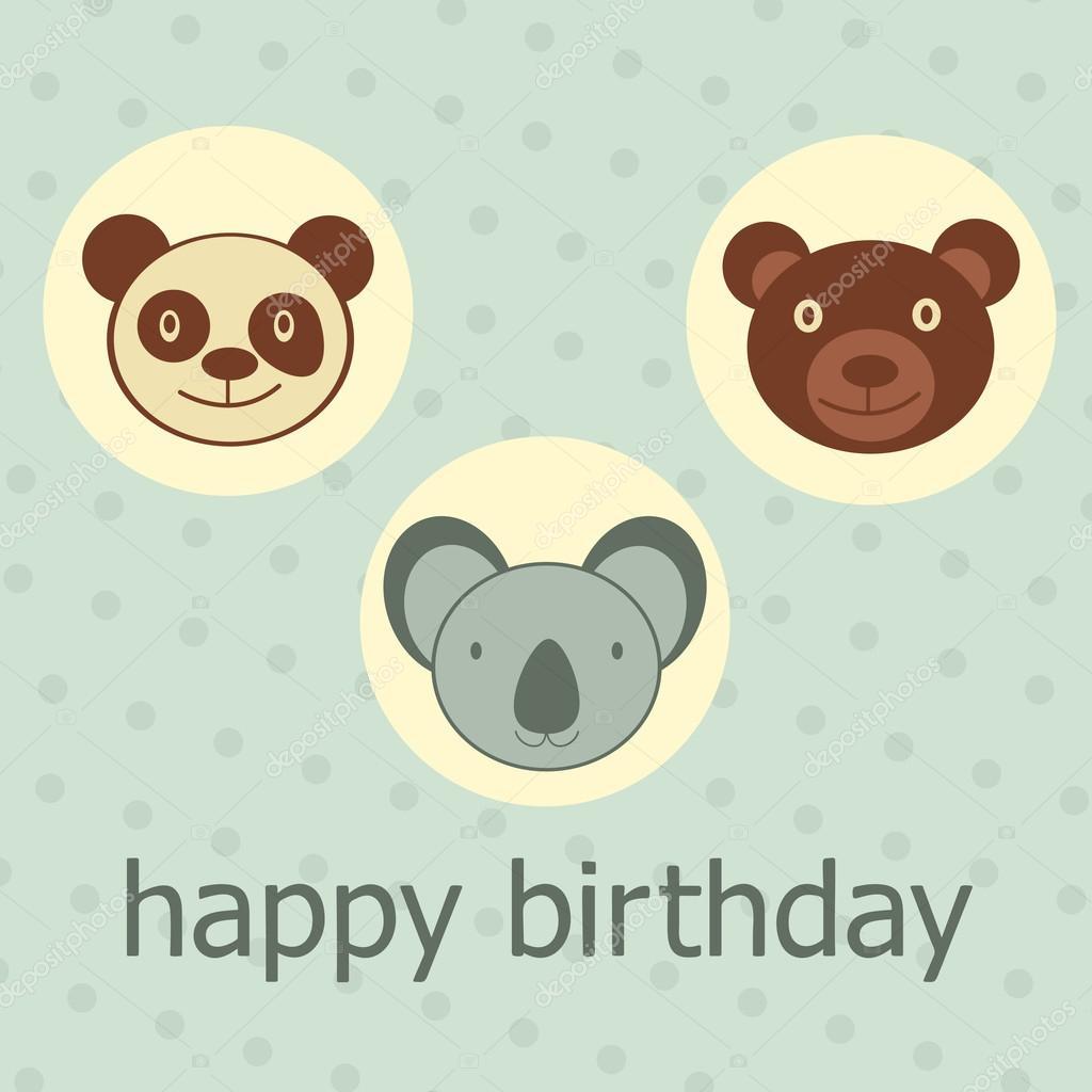 Картинки с днем рождения - фото животных (3)