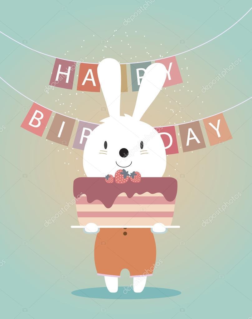 Картинки с днем рождения - фото животных (4)