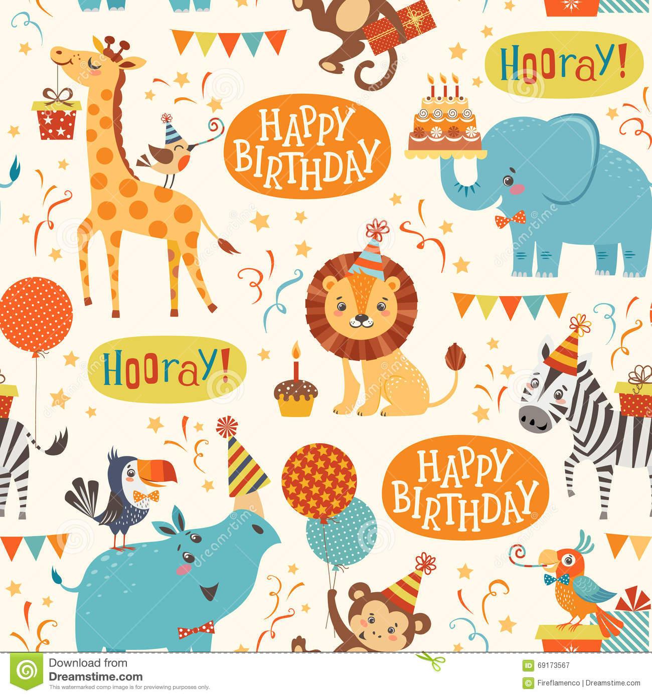Картинки с днем рождения   фото животных (8)