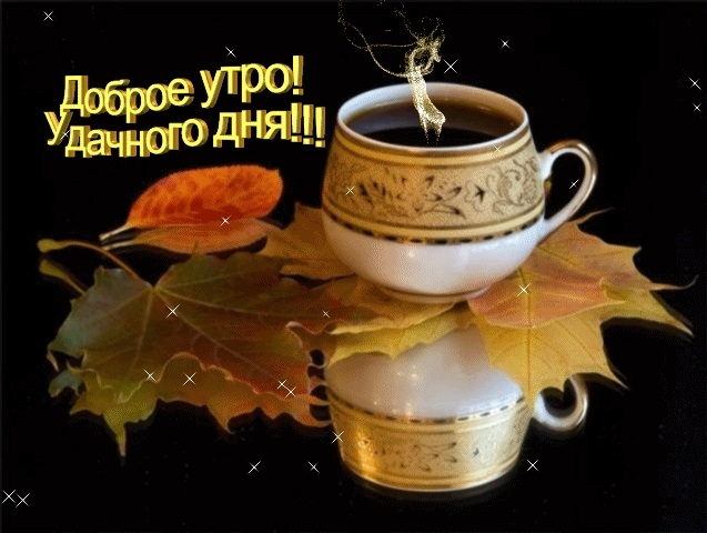 Картинки с добрым утром и хорошего дня гифки013