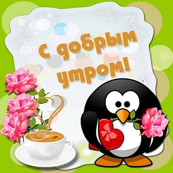 Картинки с добрым утром прикольные подруге в понедельник (9)