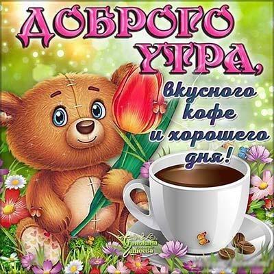 Картинки с добрым утром хорошего дня006
