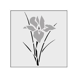 Картинки трафарет цветы колокольчики010
