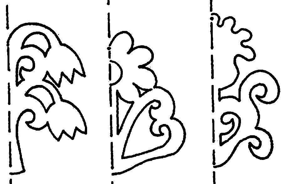 Картинки трафарет цветы колокольчики015