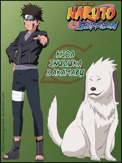 Киба Инузука арт картинки в хорошем качестве005