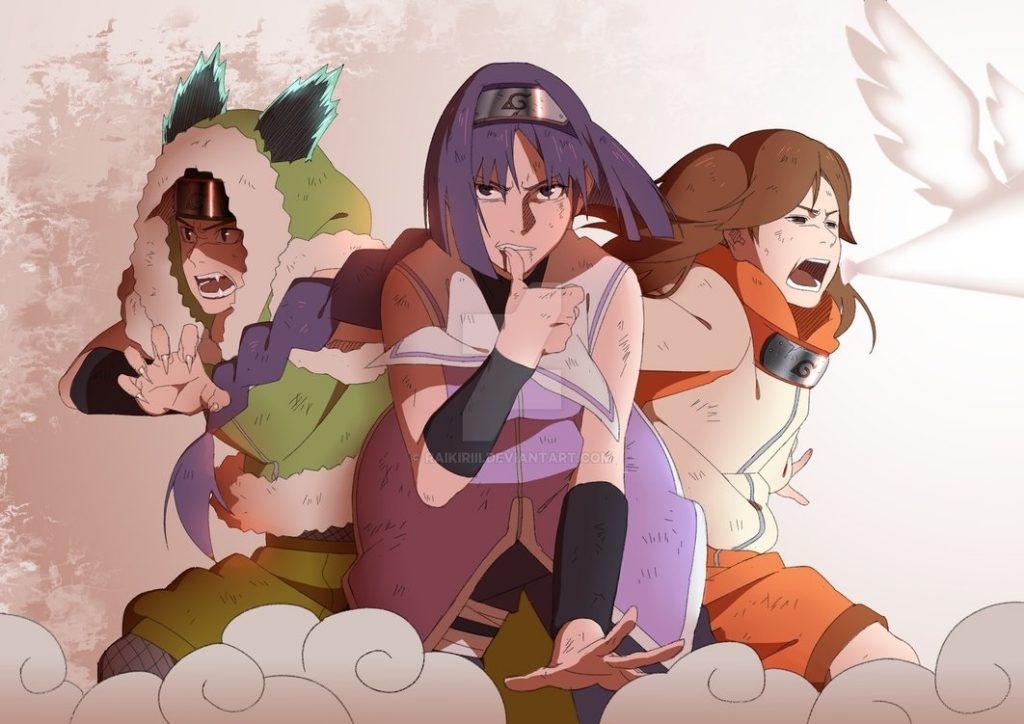 Киба Инузука арт картинки в хорошем качестве006