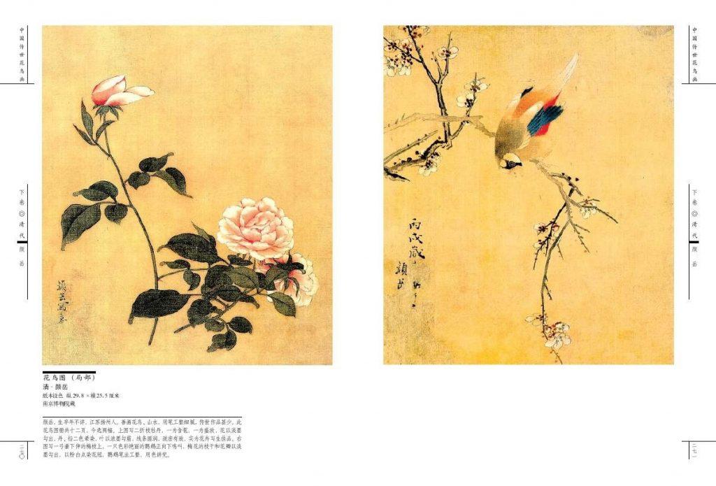 Китайские цветы рисунки и картинки003