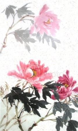 Китайские цветы рисунки и картинки005