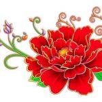 Китайские цветы рисунки и картинки