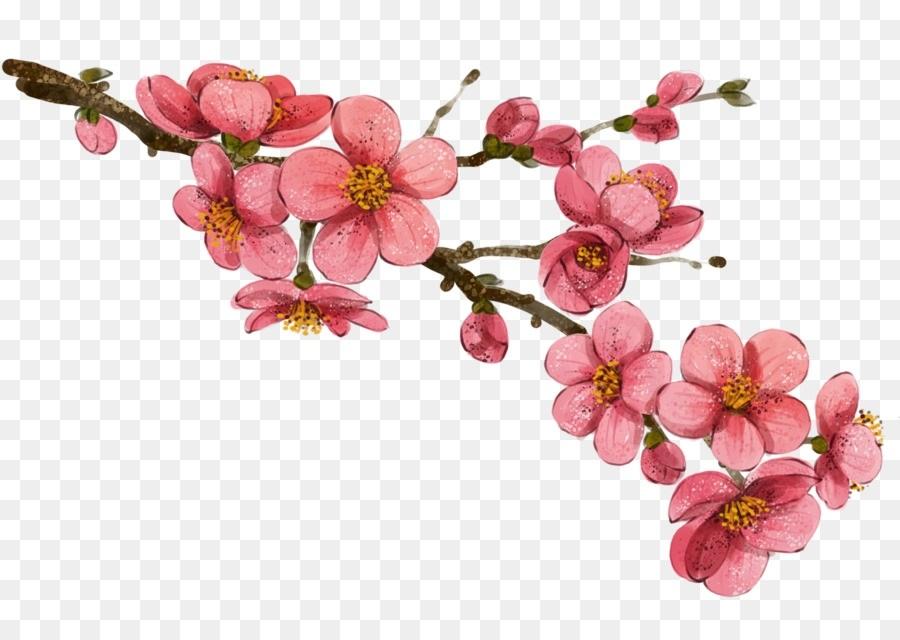 Китайские цветы рисунки и картинки007