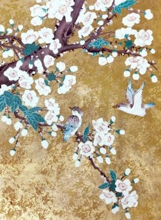 Китайские цветы рисунки и картинки017