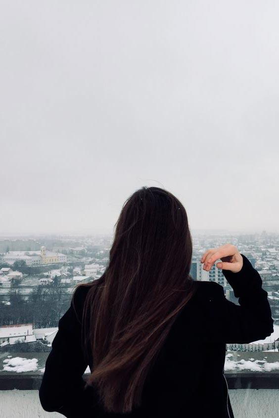 Классные картинки для девушек со спины на аватарку011