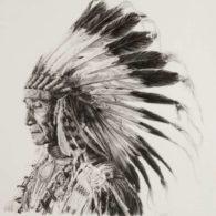 Классные эскизы индейцы - подборка картинок (10)