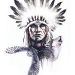 Классные эскизы индейцы — подборка картинок