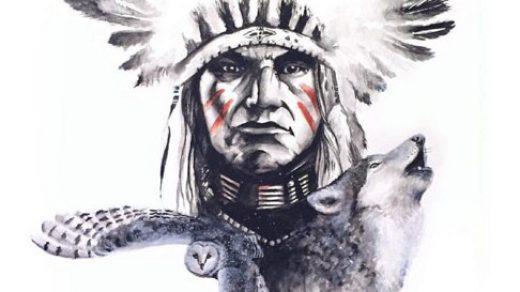 Классные эскизы индейцы   подборка картинок (4)